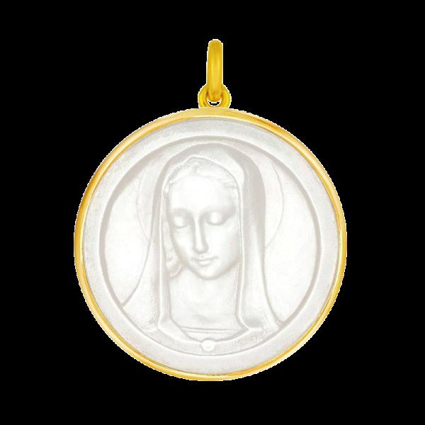 Medaille bapteme Santa Madonna