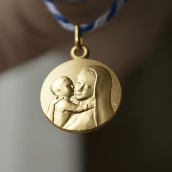 Medaille bapteme Douceur Mariale