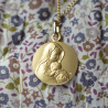 Medaille bapteme Marie Aimante