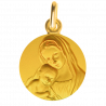 medaille bapteme Mère protectrice