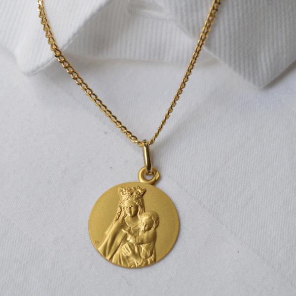 medaille bapteme Notre Dame de Toutes Grâces