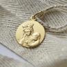 medaille bapteme Portrait de Notre Dame de Toutes Grâces