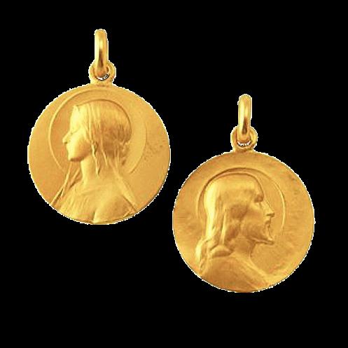 medaille-du-scapulaire vierge seule et christ seul