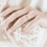 Alliance ruban en or jaune 18 carats - Maison Laudate