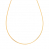 Chaine bapteme Collier Omega Or Jaune 5g