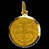 Medaille bapteme Saint Benoît, patron de la Chrétienté