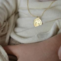 Médaille Ange ajouré