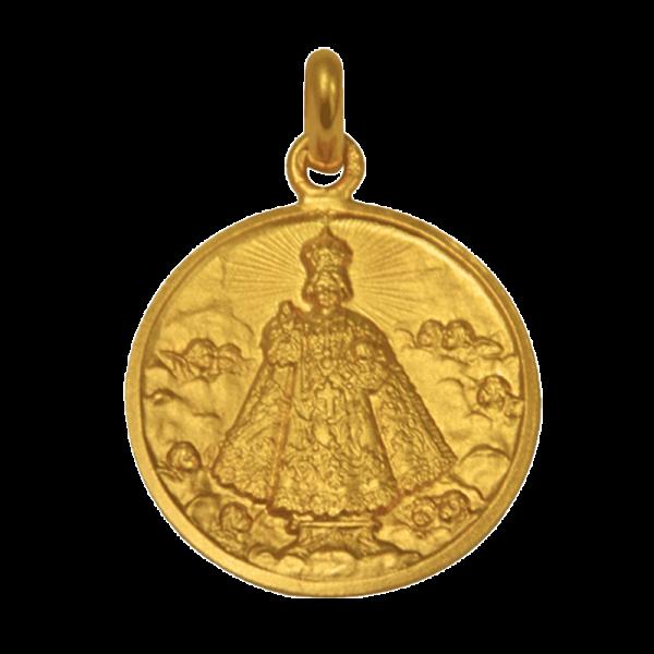 Medaille bapteme Petit Jésus de Prague