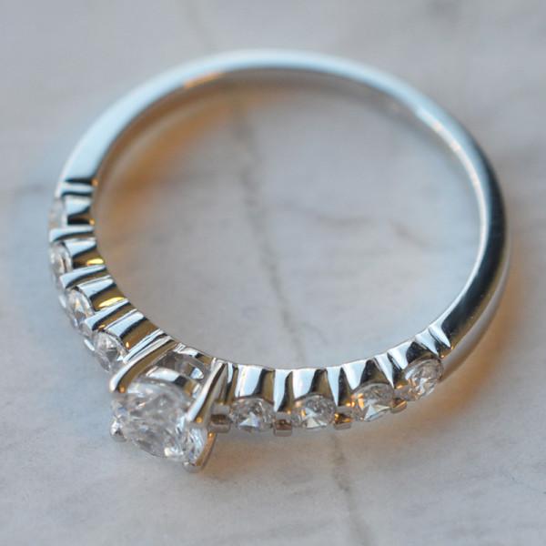 Solitaire diamant 0,40carats Mars