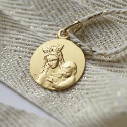 Ensemble Portrait de Notre Dame de Toutes Grâces + chaine forçat