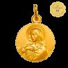 medaille bapteme Vierge de Tendresse