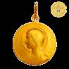 Medaille bapteme Virgo Maria
