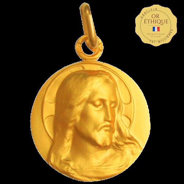 Medaille bapteme Maître de prières