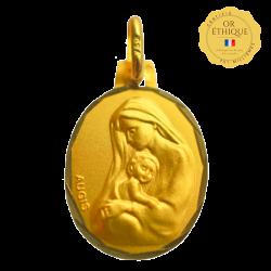 medaille bapteme La Délicatesse