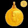 Medaille bapteme Vierge jeune