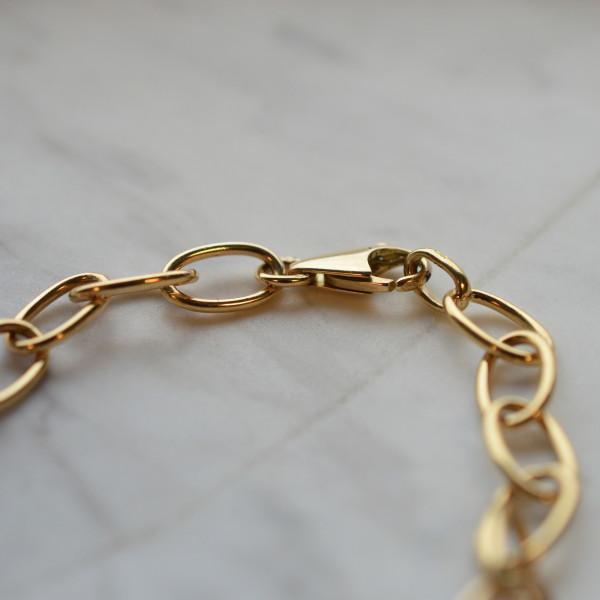 Bracelet Famille or 18 carats 7.30gr