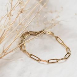 Bracelet maille trombone Maman Vogue x Laudate