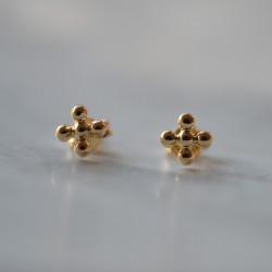 Boucles d'oreilles croix...