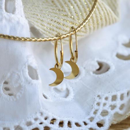 Créoles Mini Luna Caelorum