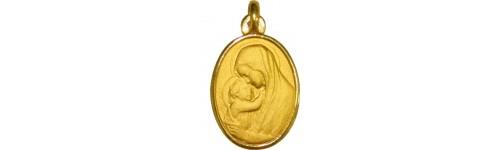 Vierge à l'Enfant ovale