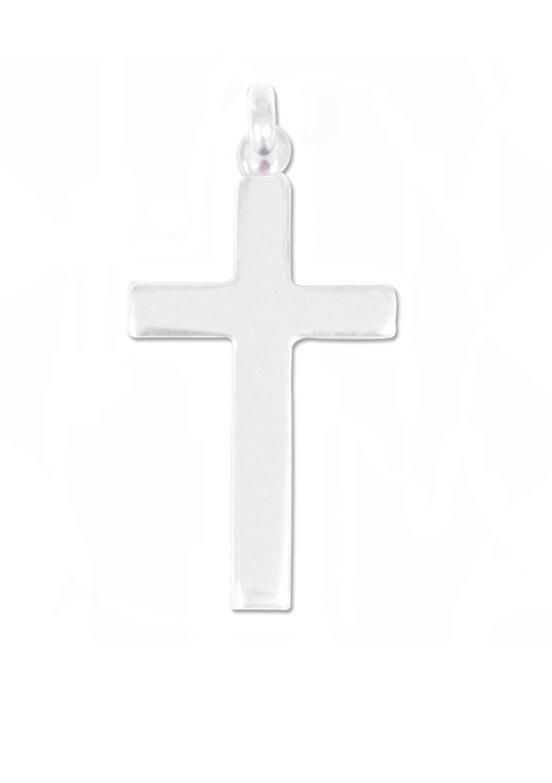 Croix bapteme argent