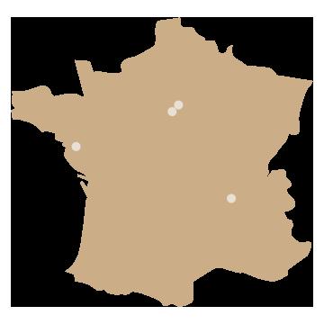Laudate Nos points de vente en France Paris - Versailles - Lyon - Nantes